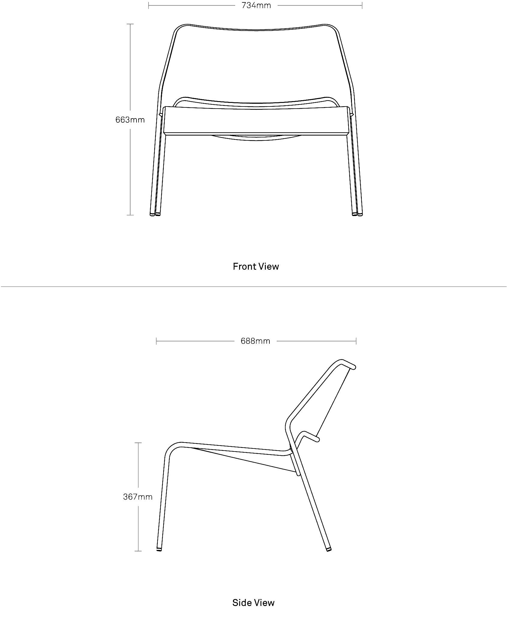 Hot Mesh Lounge Chair Modern Outdoor Seating Blu Dot