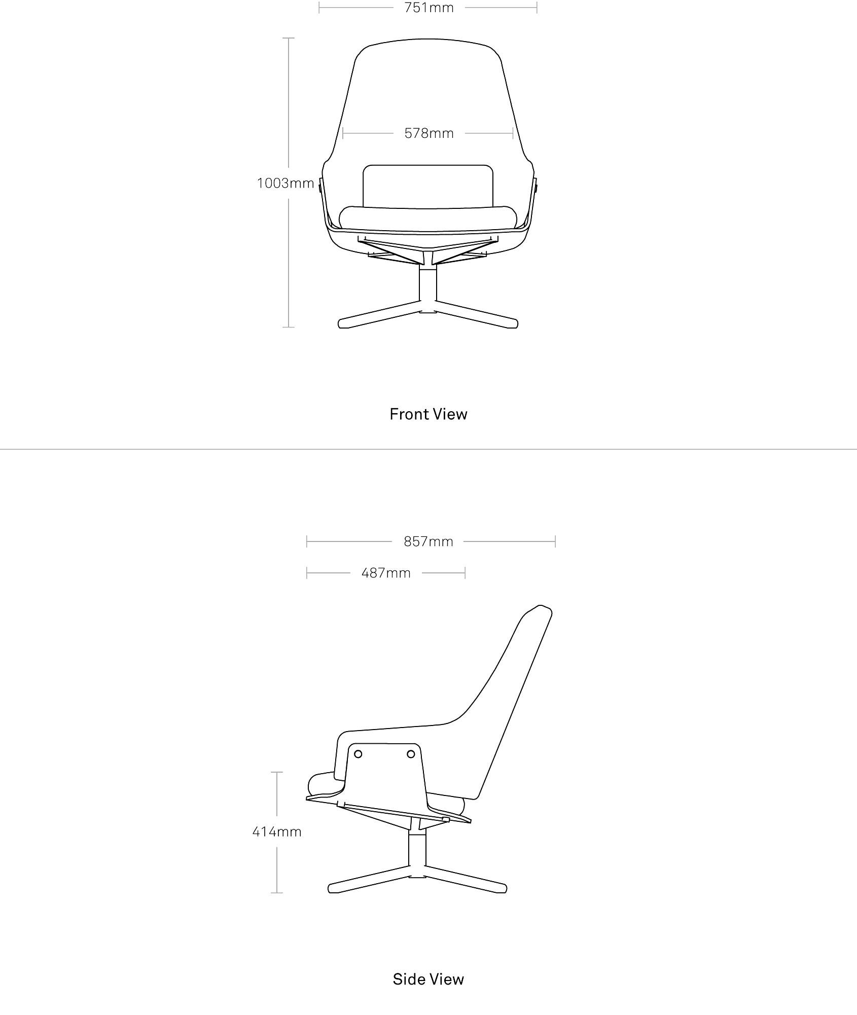 Lock Modern Lounge Chair Modern Chairs Blu Dot