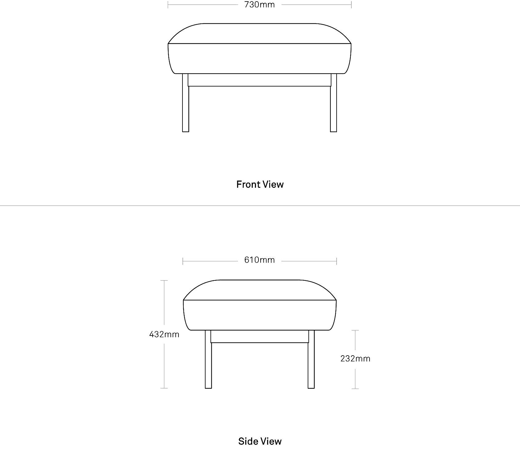 Puff Puff Modern Ottoman Modern Lounge Chairs And