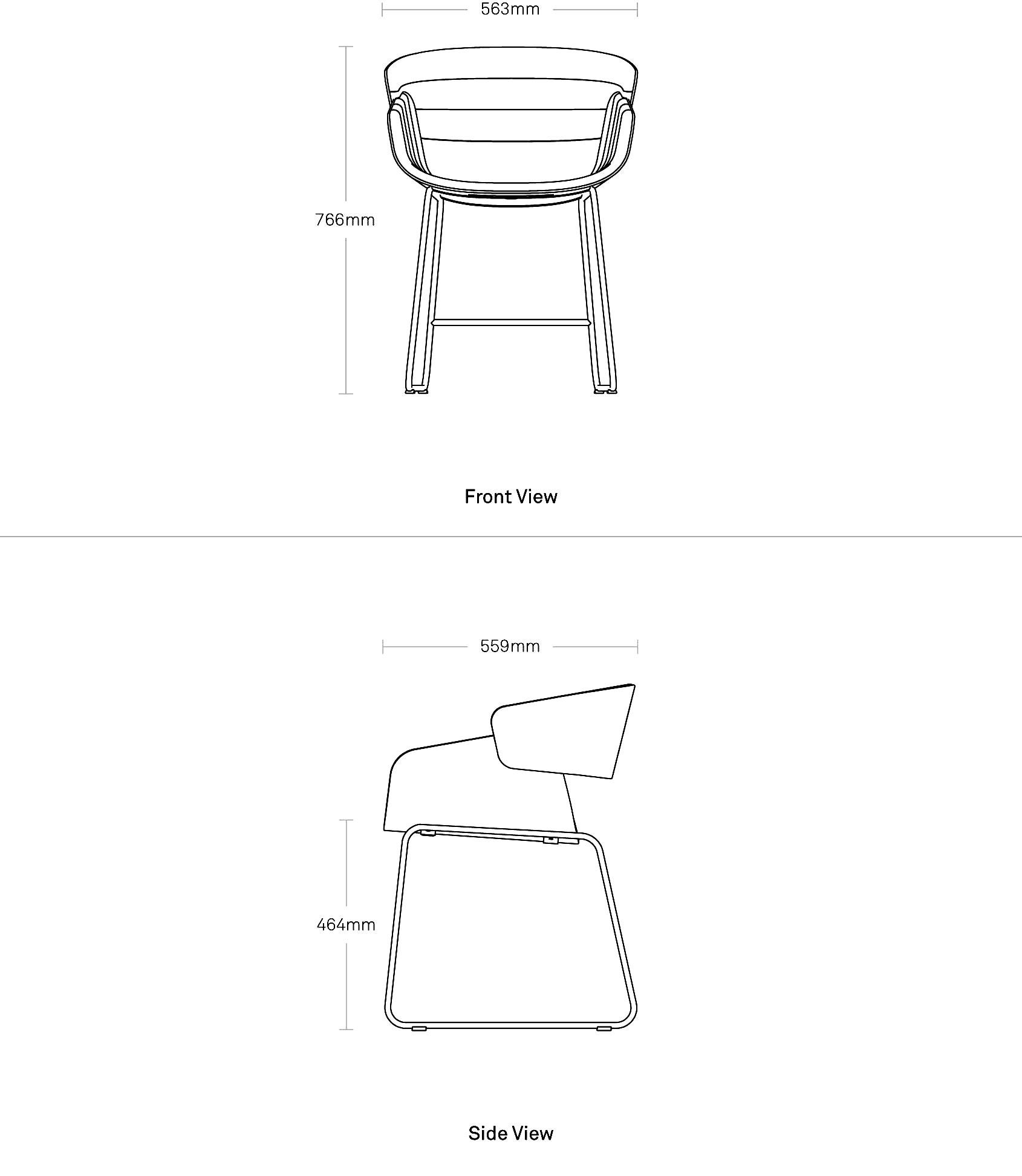 Racer Dining Chair Modern Dining Chair Blu Dot