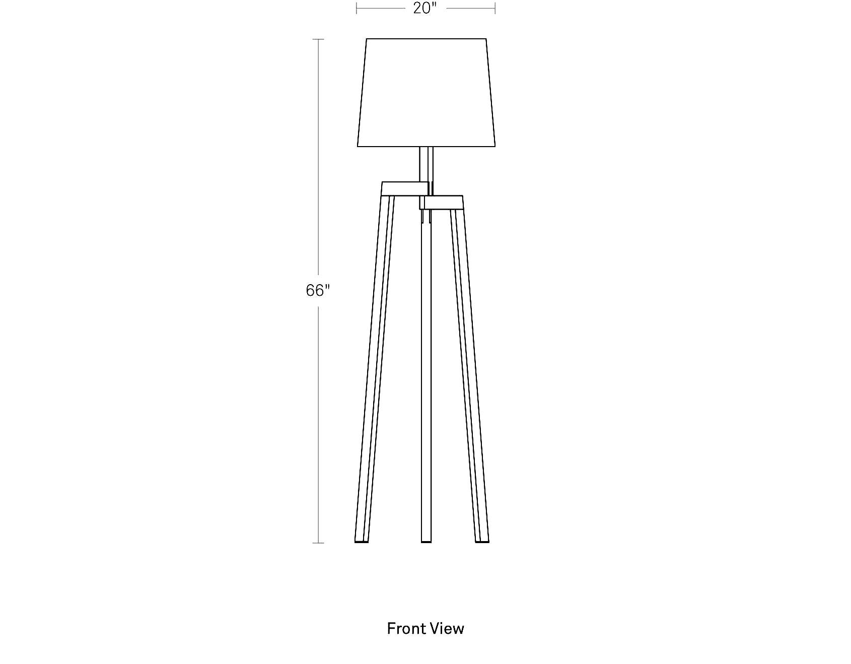 Stilt Floor Lamp Modern Lamps Blu Dot