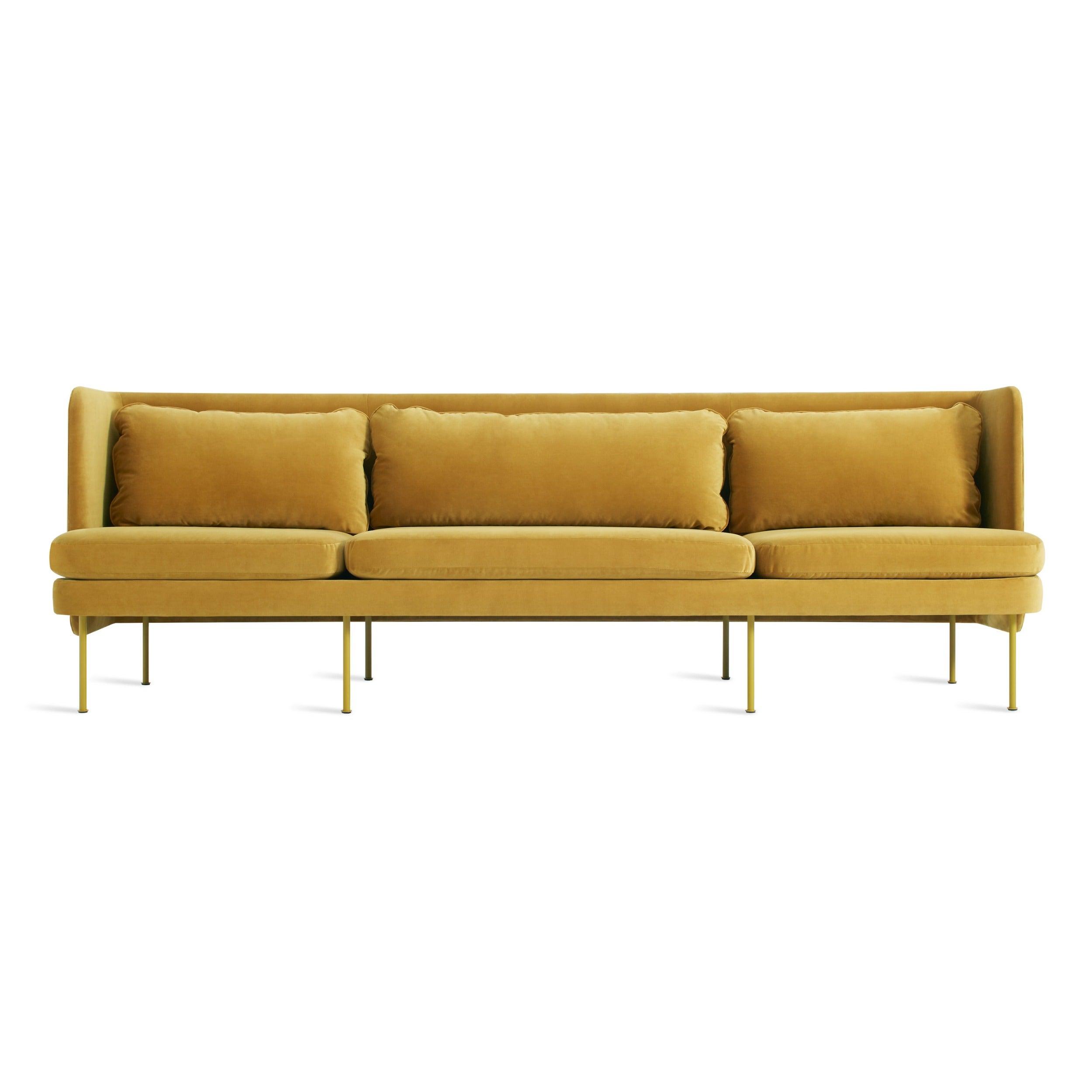 """Bloke 107"""" Velvet Sofa"""