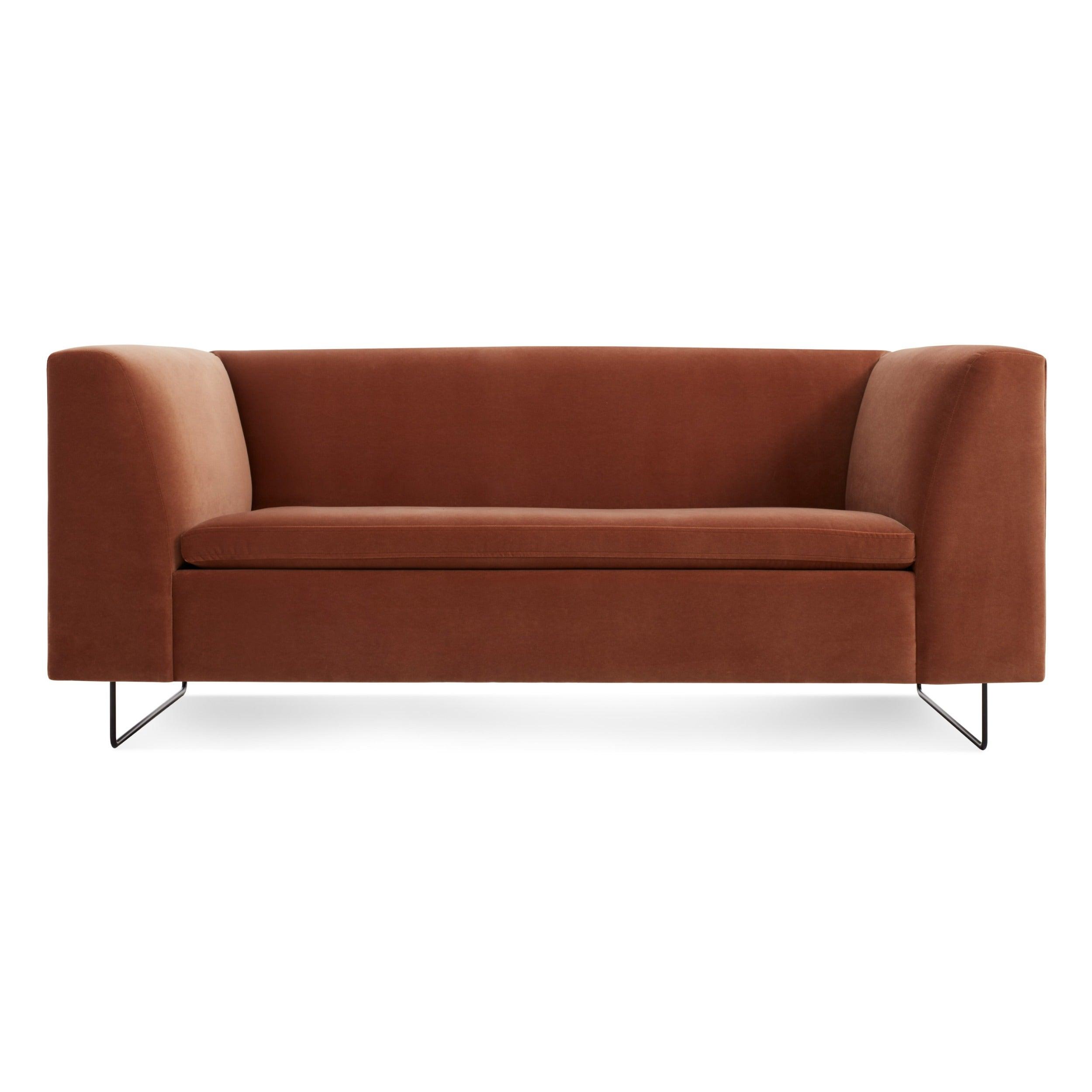 Bonnie Velvet Studio Sofa