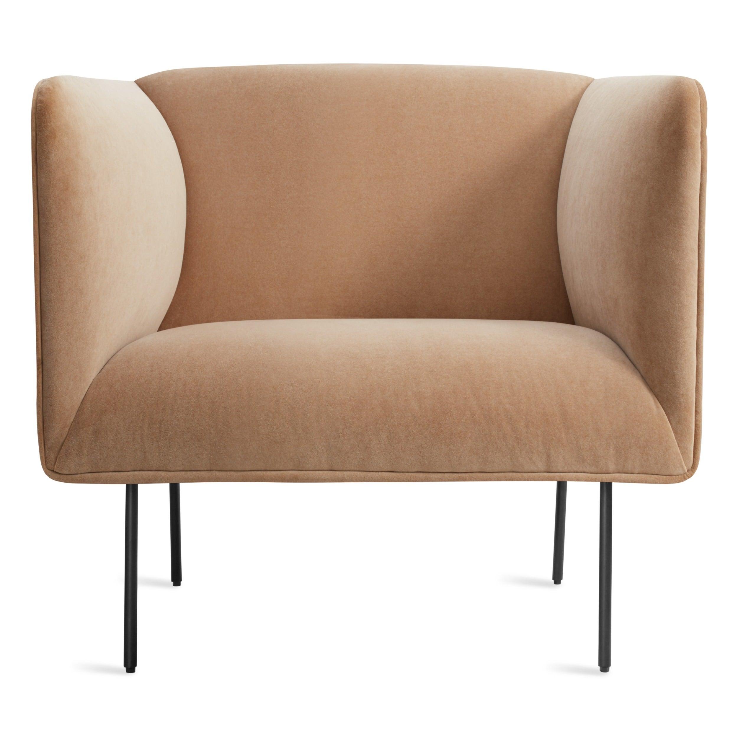 Dandy Velvet Lounge Chair