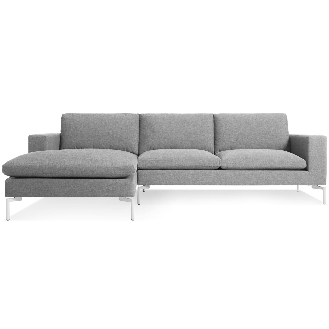 New Standard Sofa w/ Left Arm Chaise - Modern Sofas and ...