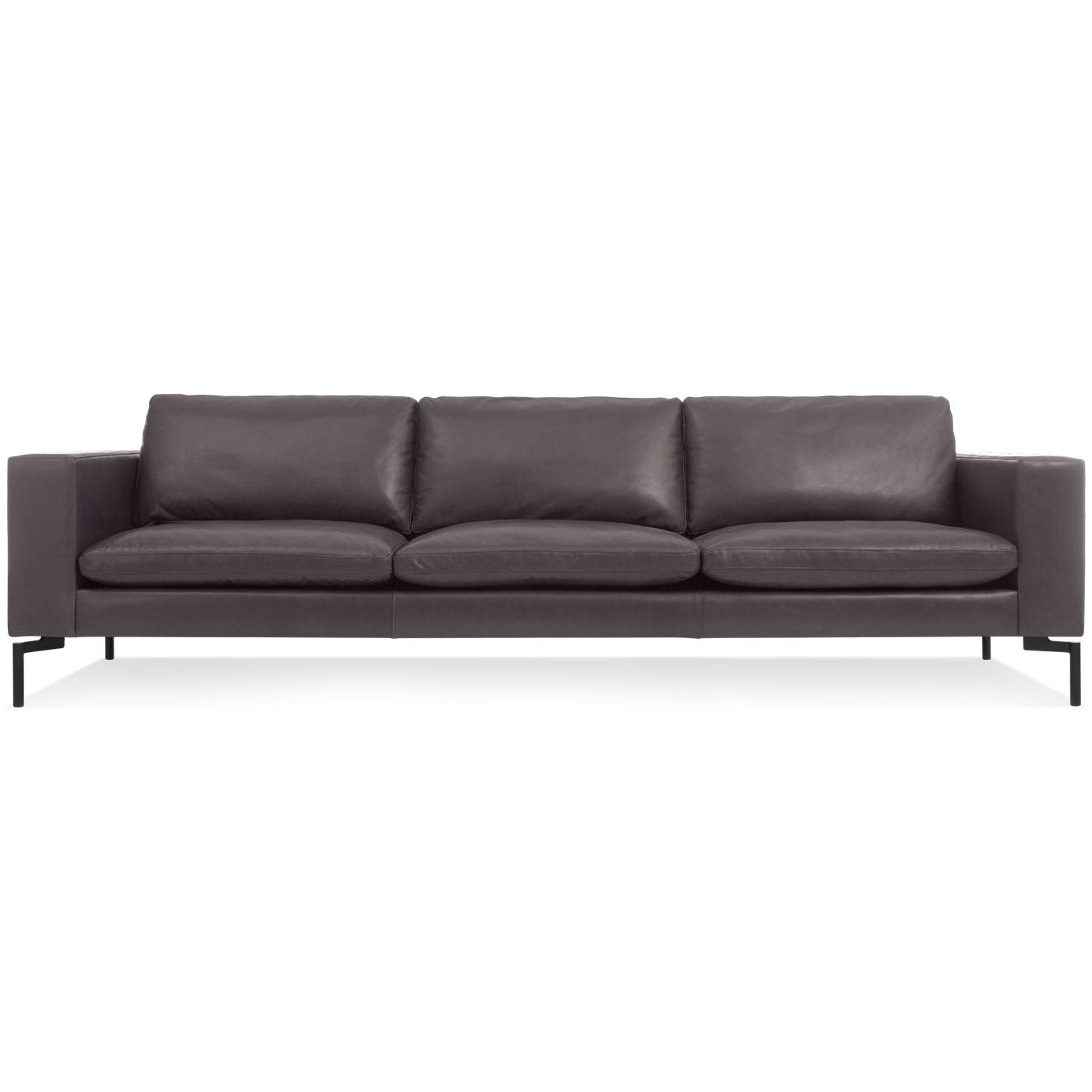New Standard 92 Inch Leather Sofa - Modern Sofas and ...