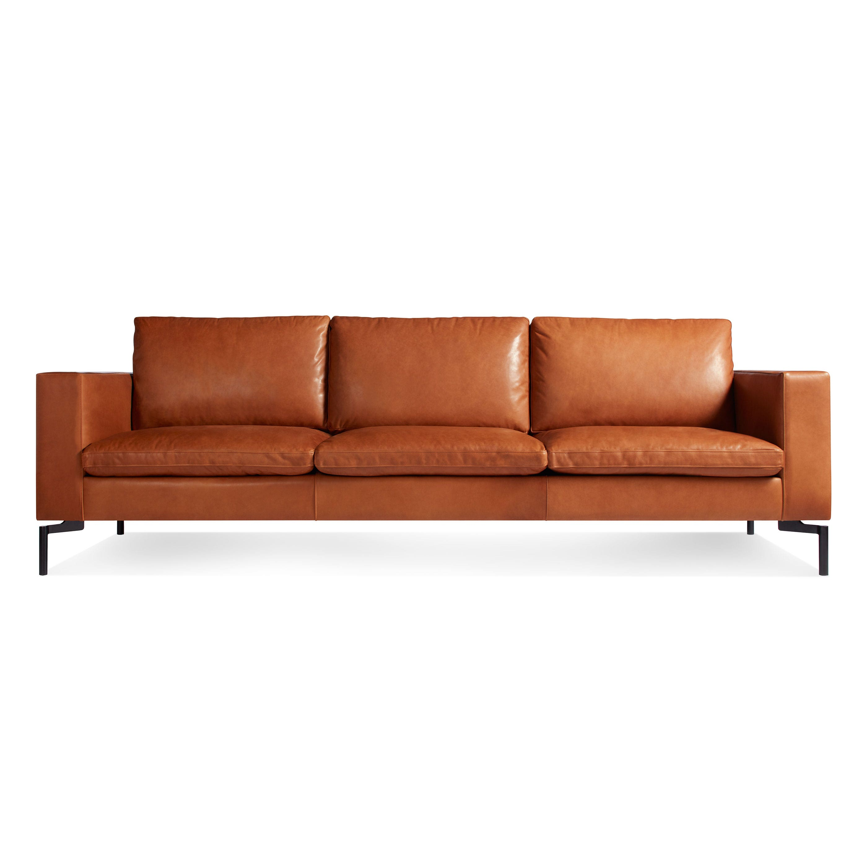 New Standard 92 Inch Leather Sofa - Modern Sofas and Sectionals ...