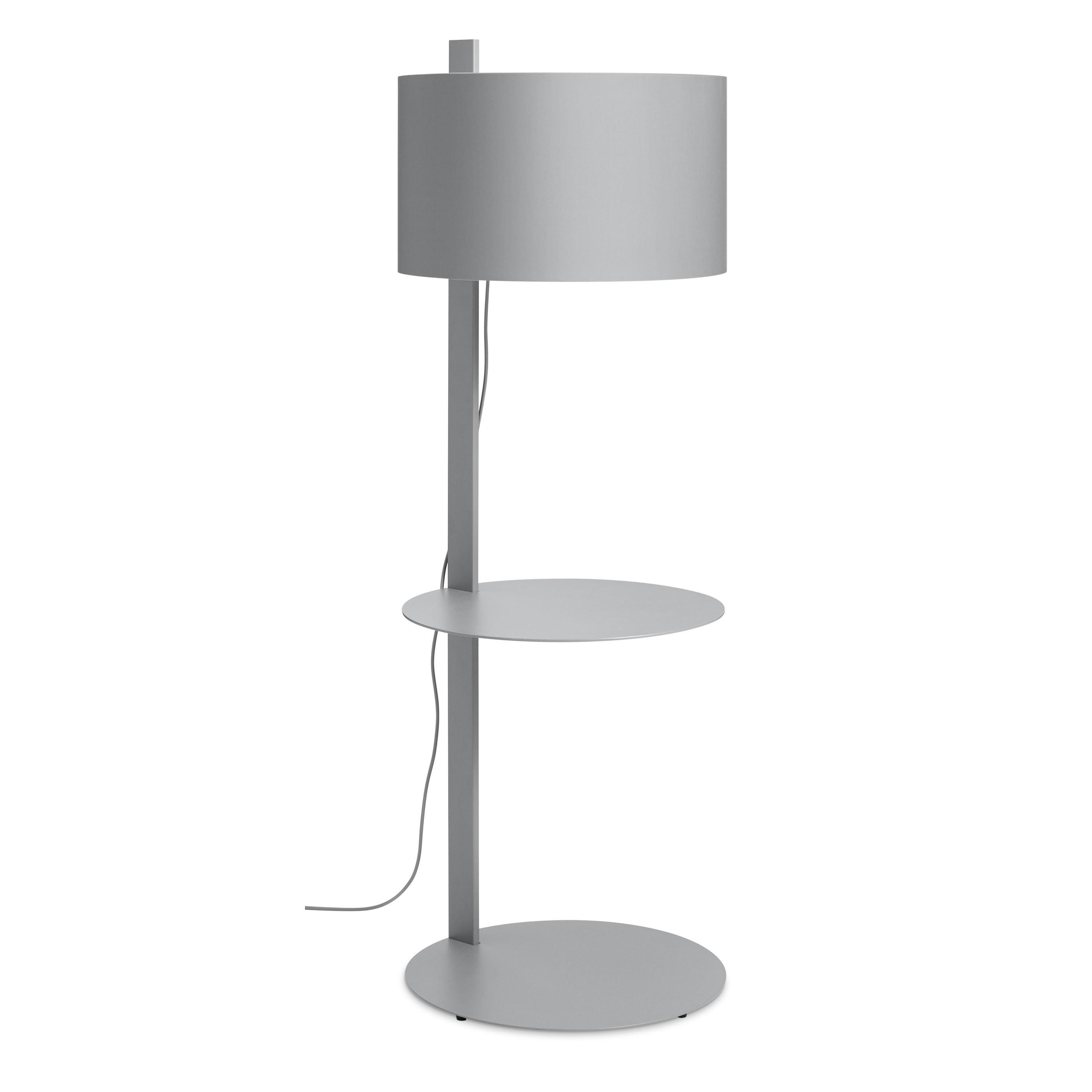 Note Floor Lamp With Table Modern Floor Lamps Blu Dot