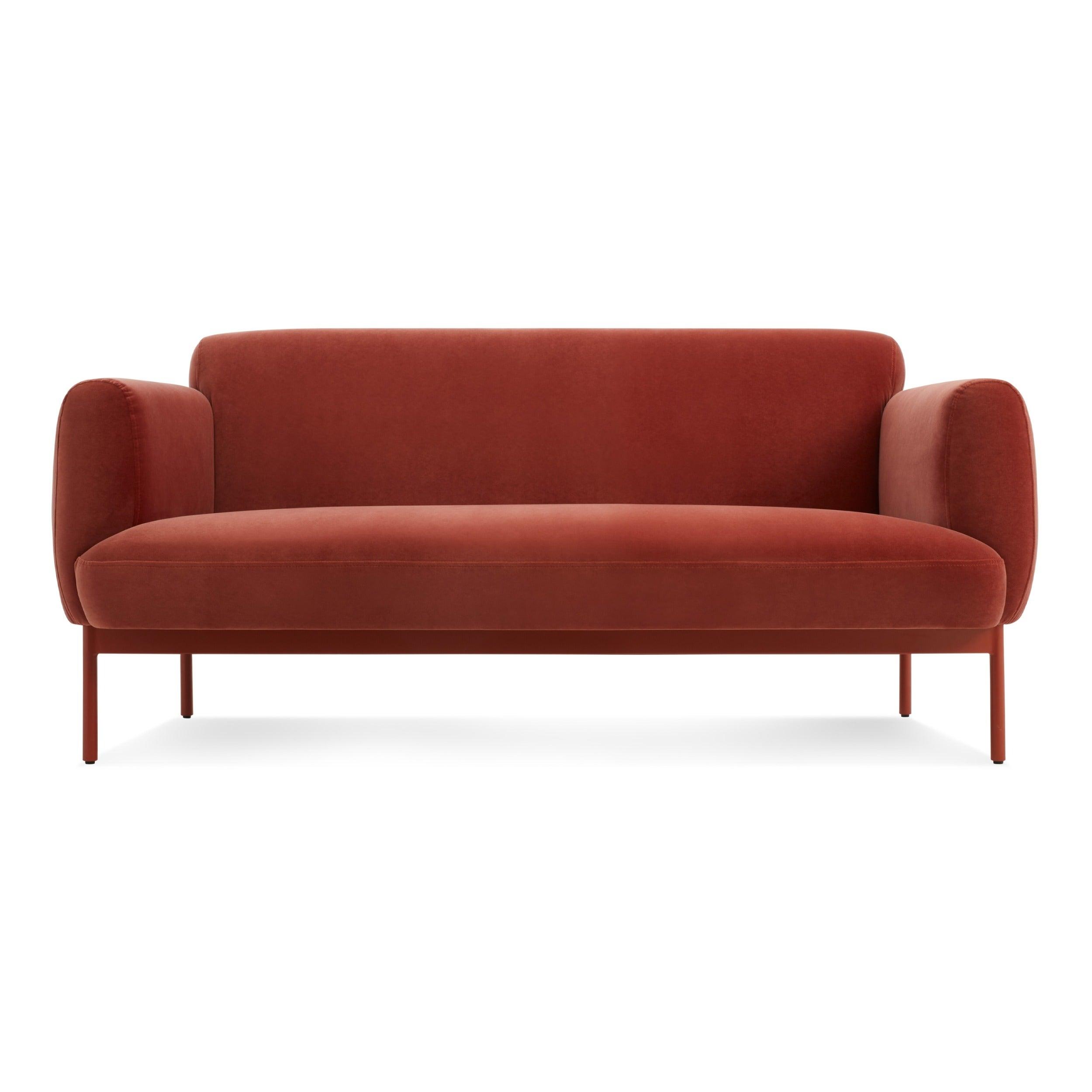"""Puff Puff 67"""" Velvet Sofa"""