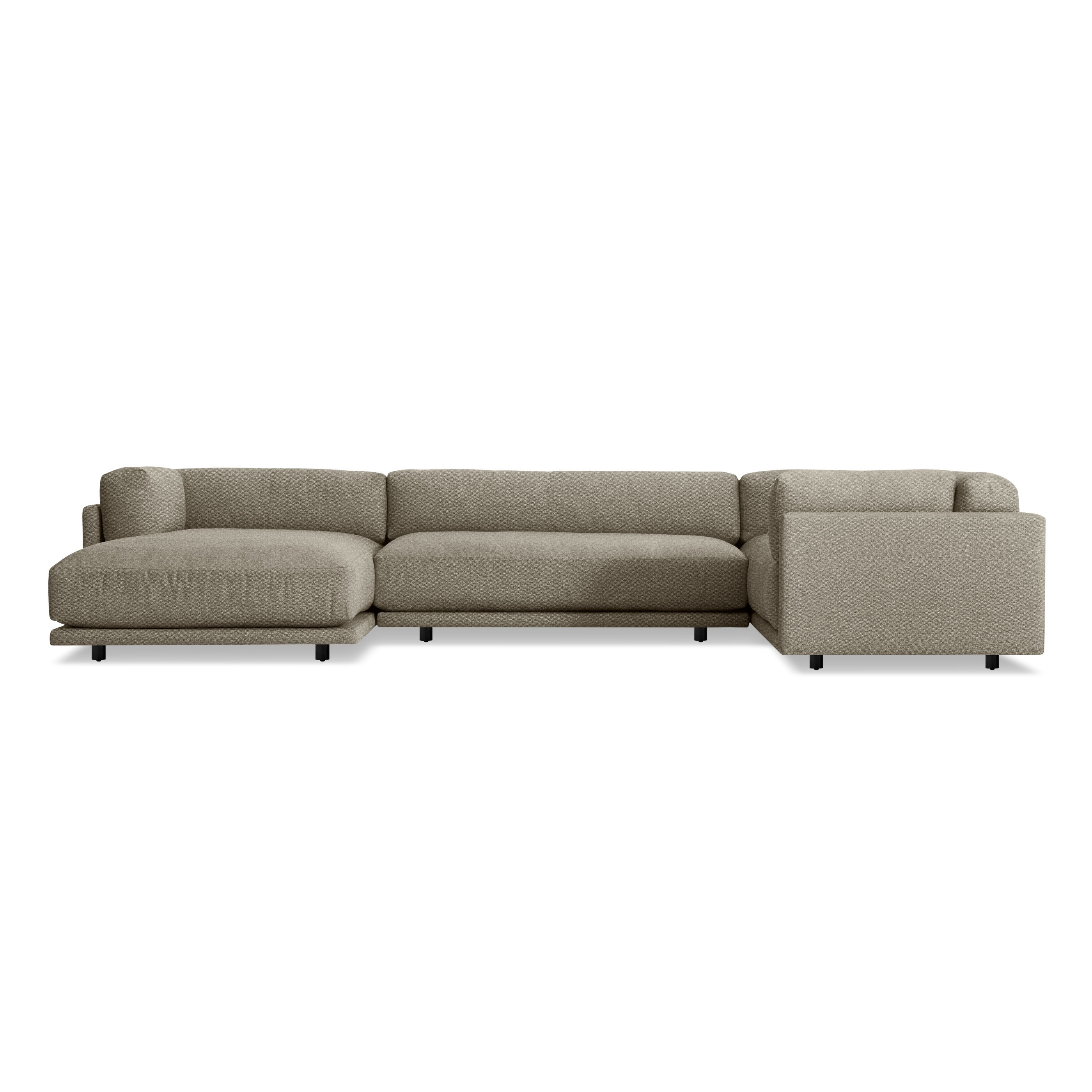 Sunday L Sectional Sofa W Chaise